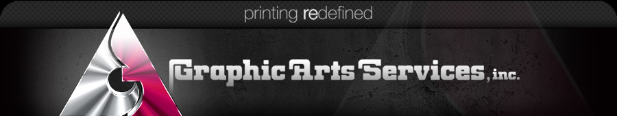 Graphic Arts Services, printing redefined
